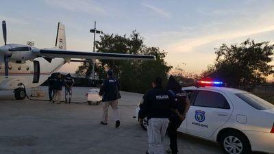 Acusados por cuádruple crimen fueron trasladados a Fuerte Olimpo