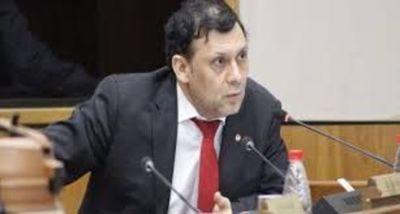 Declaran la rebeldía del ex senador Víctor Bogado