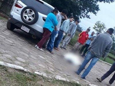 Hombre mató a balazos a su ex en plena calle