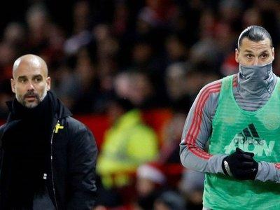 """Ibrahimovic: """"Después de enfrentarnos, Guardiola se escondía de mí"""""""