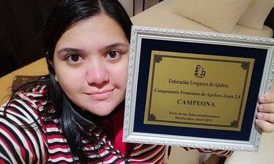 La primera paraguaya que se convierte en Maestra Internacional de Ajedrez