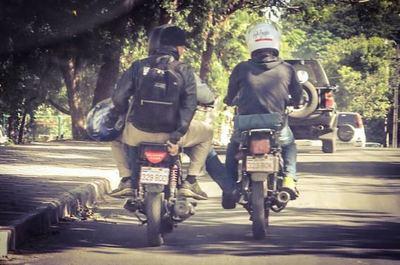 Ypané, Villa Elisa y San Lorenzo encabezan lista de accidentados en moto en Central