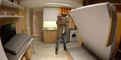 El boom de las viviendas minimalistas: vivir en un departamento de 18 metros cuadrados