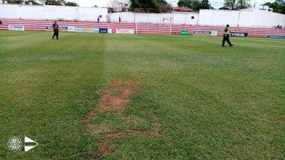 Olimpia califica de 'pésimo estado' el campo de juego del 'Kelito'