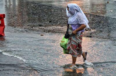 Pronostican lunes con lluvias y tormentas eléctricas