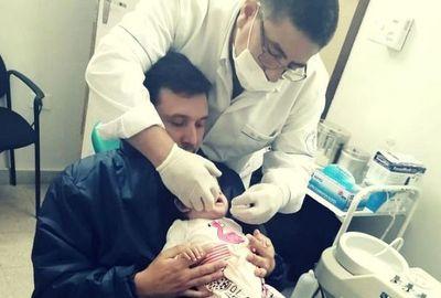 Atención odontológica para primera infancia en Hospital de Villa Elisa