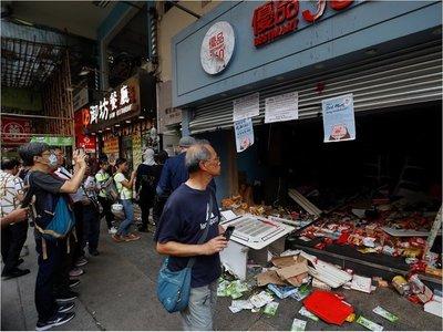 Hong Kong: Nuevas escenas de caos en protesta no autorizada