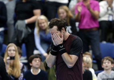Murray llora tras ganar el torneo de Amberes