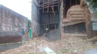 Cae parte de una casa, sede de Autores Paraguayos Asociados