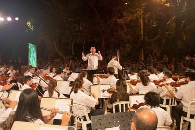 La OSCA ofrecerá su segundo concierto al aire libre en la Plaza Infante Rivarola