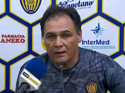 """Celso Ayala: """"La actitud del equipo fue sensacional"""""""
