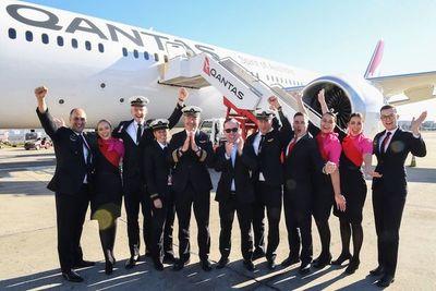 El vuelo más largo sin escalas salió de NYC y aterrizó en Sidney