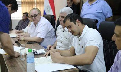 Firman convenio para inicio de obras en Alto Paraná