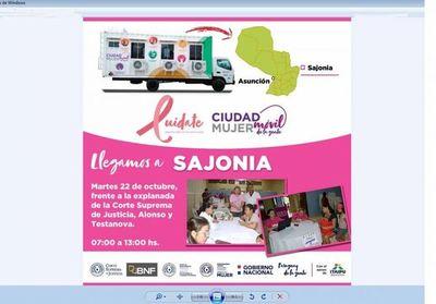 Controles de PAP y mamografía en PJ de Asunción
