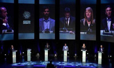 Las 10 frases más duras del debate presidencial en Argentina