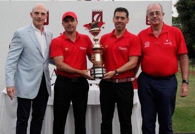 La dupla Cabello-Morínigo gana la Copa Rey de España