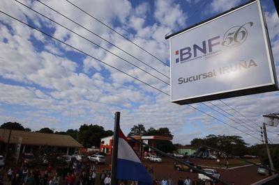 BNF cuenta con crédito para afectados por incendios forestales