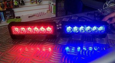 Plantean prohibir luces de uso policial en vehículos particulares