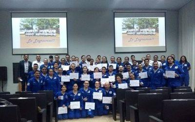 Egresan 40 socorristas de la Cruz Roja del Alto Paraná