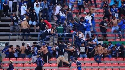 Violencia en fútbol mexicano