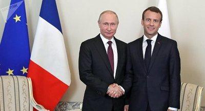 Putin y Macron destacan importancia de diálogo sirio en el marco del Comité Constitucional