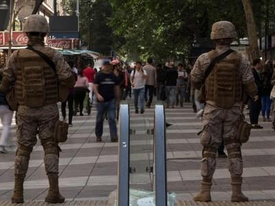 Una protesta con violencia inusual en Chile