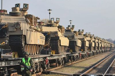 """EE.UU. desplaza tropas y tanques en Lituania, un """"mensaje para Rusia"""""""