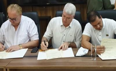 Alto Paraná beneficiada con obras de gran envergadura