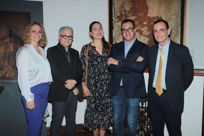 Reunión de coleccionistas de arte
