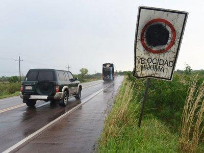Señalización destruida e insuficiente eleva inseguridad vial en  ruta PY01