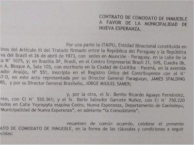 Itaipú también cedió puertos en su franja de bosques a municipalidades