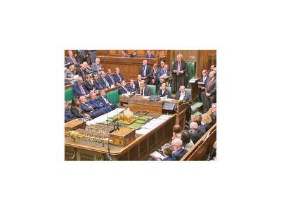 Parlamento británico se niega a tratar acuerdo del  brexit