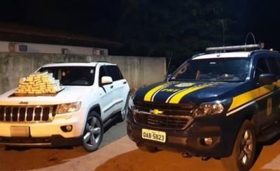 Pareja franqueña detenida con 40 kg de cocaina en Brasil