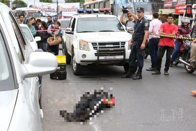 Hoy extraerán la bala del cuerpo del menor asaltante asesinado