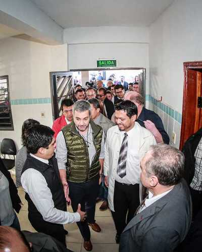 Mandatario inaugura USF y obras en subestación de Itakyry en inicio de jornada de Gobierno