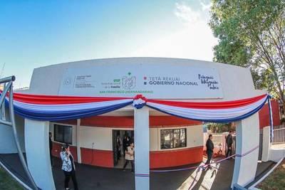 Hernandarias: Abdo inauguró Unidad de Salud de la Familia San Francisco