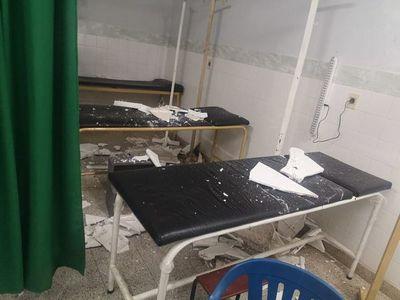 Cae parte del cielorraso de Urgencias del Centro de Salud de Yaguarón
