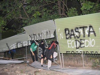 MOPC denuncia a manifestantes del grupo El Botánico No Se Toca