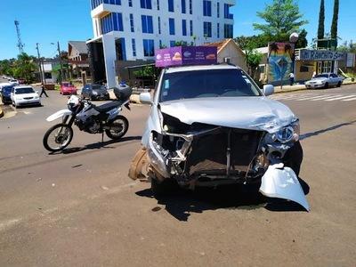 APARATOSO ACCIDENTE EN LA COSTANERA