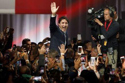 Trudeau gana legislativas canadienses