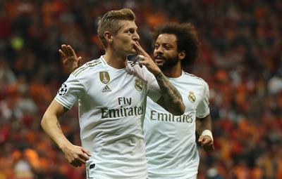 El Real Madrid consigue en Turquía su primera victoria en Champions