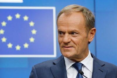 Tusk recomienda a líderes de la UE aceptar aplazamiento del Brexit