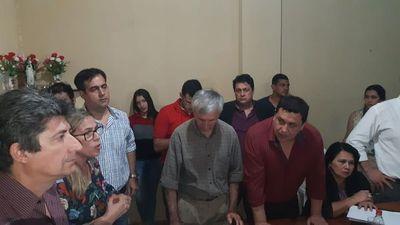 Ediles aprueban pedido de intervención municipal de Lambaré