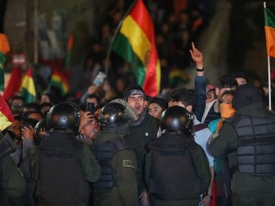 Al menos 27 detenidos en Bolivia en protestas por supuesto fraude electoral