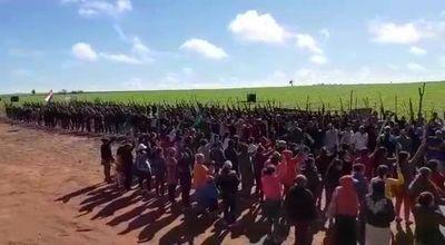 "Invasores con organización ""tipo militar"" en zona de Caaguazú"