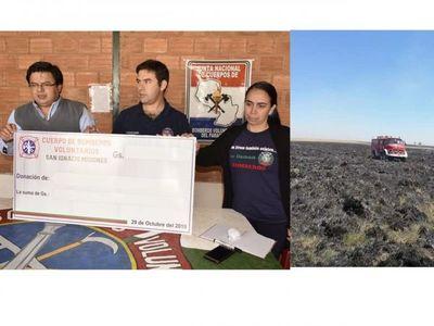 Coordinan acciones para maratón a favor de bomberos de San Ignacio