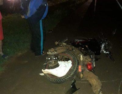 Violento choque en Minga Guazú