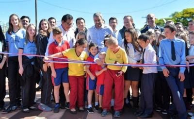 Inauguraron USF, rutas y Parque Lineal de Itaipu