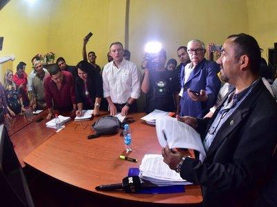 """Lambaré: Alegan que pedido de intervención es por """"miedo a elecciones"""""""