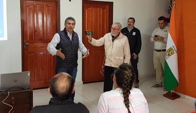 Ponen en marcha ordenamiento urbano de Carmelo Peralta y ciudades adelañas